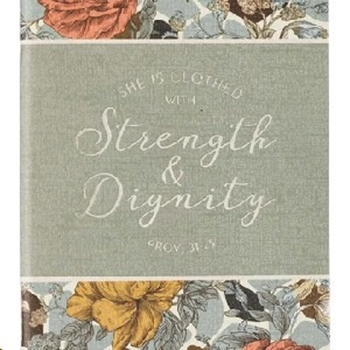 Picture of Daily Planner 2021 She is Clothed With Strength