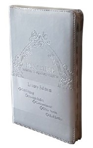 Picture of NIV Bible Luxury Silver Edition