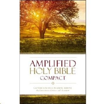 Picture of Amplified Bible Compact Hardcover