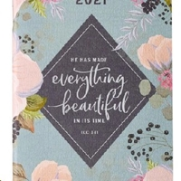 Picture of Daily Planner 2021  He Has Made Everything