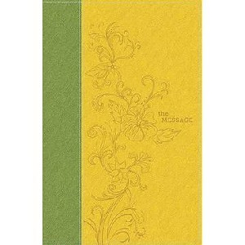 Picture of The Message Deluxe Gift Bible Sunlight/Grass