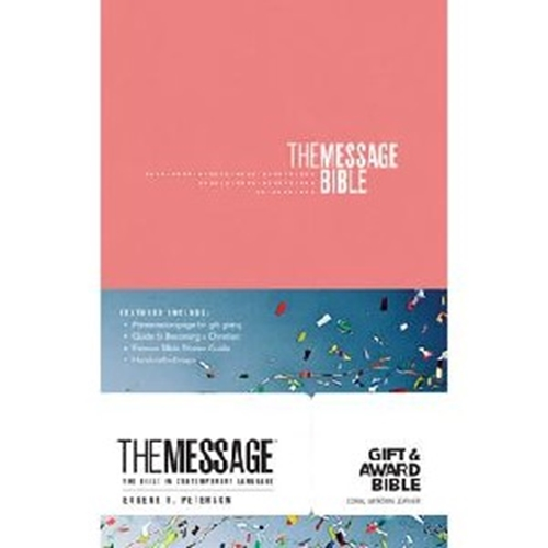 Picture of The Message Gift & Award Bible Pink