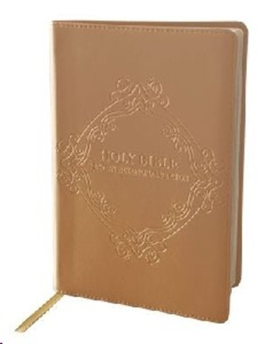 Picture of NIV Bible Leatherlux Rose Gold
