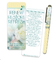 Picture of Pen & Bookmark Set Renew Restore Refresh