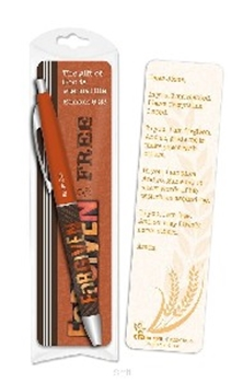 Picture of Pen & Bookmark Set Forgiven & Free