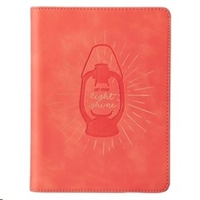 Picture of Journal Let Your Light Shine Coral