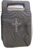 Picture of Bible Bag Fashion Black/Gray Medium
