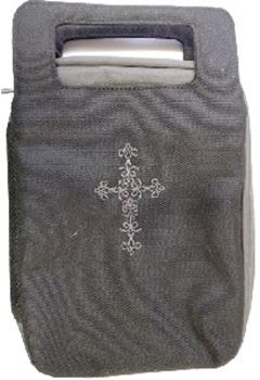 Picture of Bible Bag Fashion Black/Gray Medium