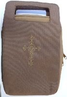 Picture of Bible Bag Fashion Brown/Tan Large