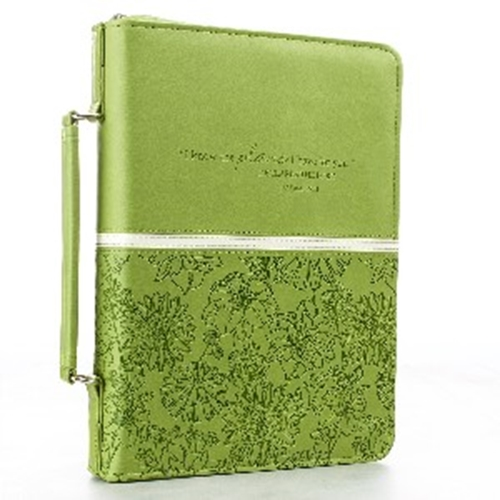 Picture of Bible Bag I Know the Plans Jer29:11 Lime Medium