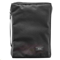 Picture of Bible Bag Value With Fish Black Medium