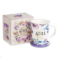 Picture of Mug Psalm 46:10 Be Still And Know Purple
