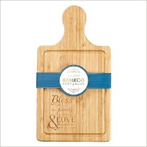 Picture of Bamboo Cutting Board Bless The Food Before Us