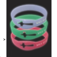 Picture of Bracelets Glow-In-The-Dark Green
