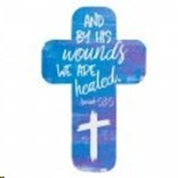 Picture of Cross Bookmark And By His Wounds We Are Healed