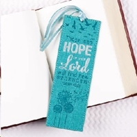 Picture of Luxleather Page Markers Those Who Hope In The Lord
