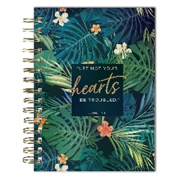 Picture of Journal Wirebound Let Not Your Hearts Be Troubled