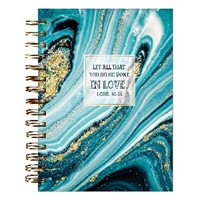 Picture of Journal Wirebound Let All That You Do Be Done in L