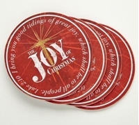 Picture of The Joy Of Christmas 4 Piece Coaster Set