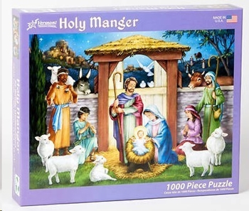 Picture of Holy Manger 1000 Piece Puzzle