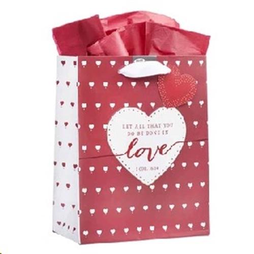 Picture of Gift Bag Medium 1 Corinthians 16:14