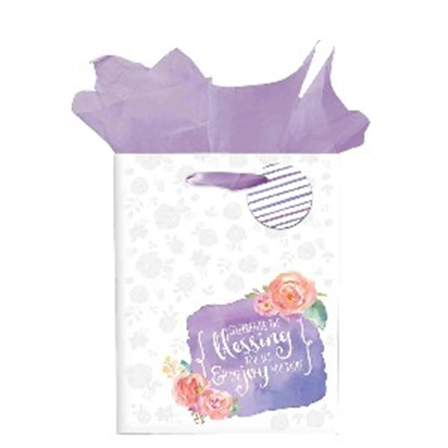 Picture of Gift Bag Medium Celebrating The Blessing