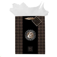 Picture of Gift Bag Medium Strong & Courageous