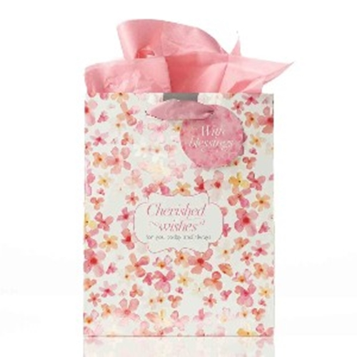 Picture of Gift Bag Medium Cherished Wishes