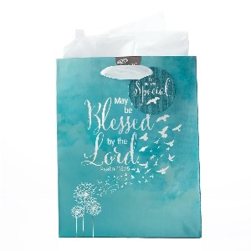 Picture of Gift Bag Medium May You Be Blessed By The Lord