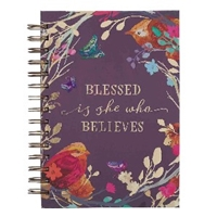 Picture of Journal Wirebound Blessed Is She Large