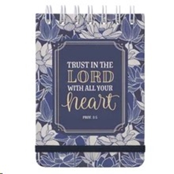Picture of Notebook Small Proverbs 3:5-6 Trust In The Lord Wi