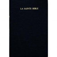 Picture of French Bible Dark Navy Vinyl Softcover
