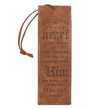 Picture of Bookmark Trust in the Lord Luxleather