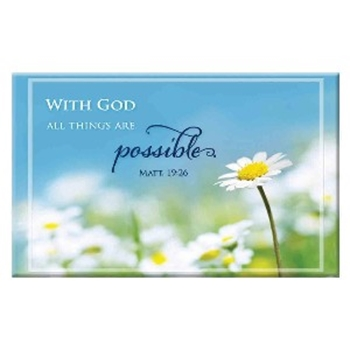 Picture of Magnet With God All Things Are Possible