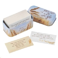 Picture of 101 Bread Of Life Promises Cards in Tin