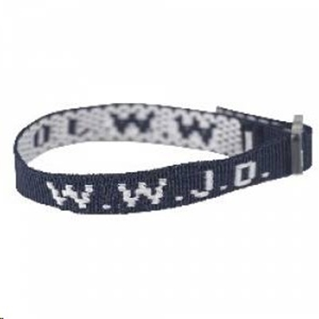 Picture of Wristband WWJD Blue