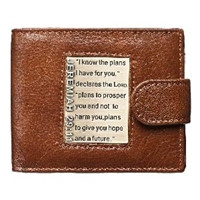 Picture of Wallet: I know the Plans (Genuine Leather)