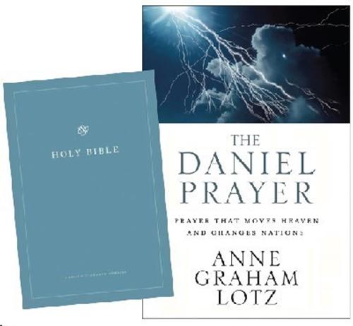 Picture of Daniel Prayer & ESV Bible Combo