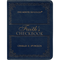 Picture of One Minute Devotions Faith's Checkbook