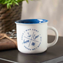Picture of Mug Amazing Grace White with Blue Interior