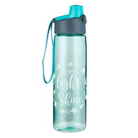 Picture of Water Bottle Let Your Light Shine