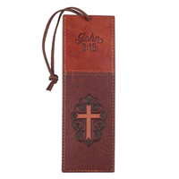Picture of Bookmark Jn 3:16 Luxleather