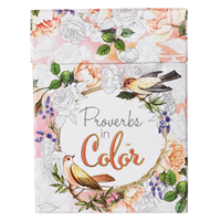 Picture of Colouring Boxed Cards Proverbs In Colour