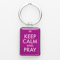 Picture of Keyring Keep Calm and Pray