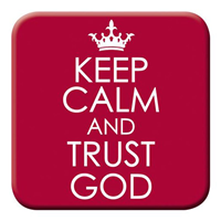 Picture of Magnet Keep Calm And Trust God