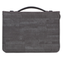 Picture of Bible Bag Courage Faux Leather Grey