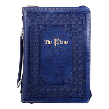 Picture of Bible Bag I Know the Plans Luxleather