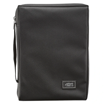 Picture of Bible Bag Value With Fish Black Extra Small