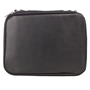 Picture of Bible Bag With Fish Badge, Black Faux Leather