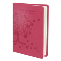 Picture of Chichewa Bible Pink Tree Design